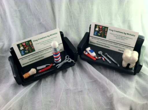 New page 1 wwwclaycreationsbymichellecom for Barber business card holder