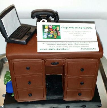 News Producer Robin Cross Custom Business Card Holder